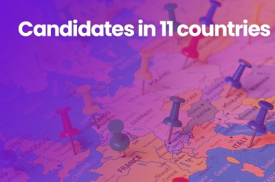 Candidates in 11 countries