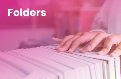 Make your life easier, use Folders!